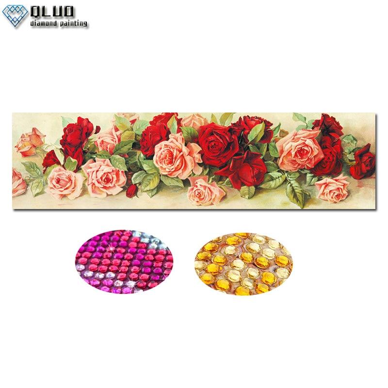 5D Diamond Painting Mosaic Rose DIY  Partial Drill  Rhinestone Flower Diamond Embroidery Cross Stitch Kits Diamond Art