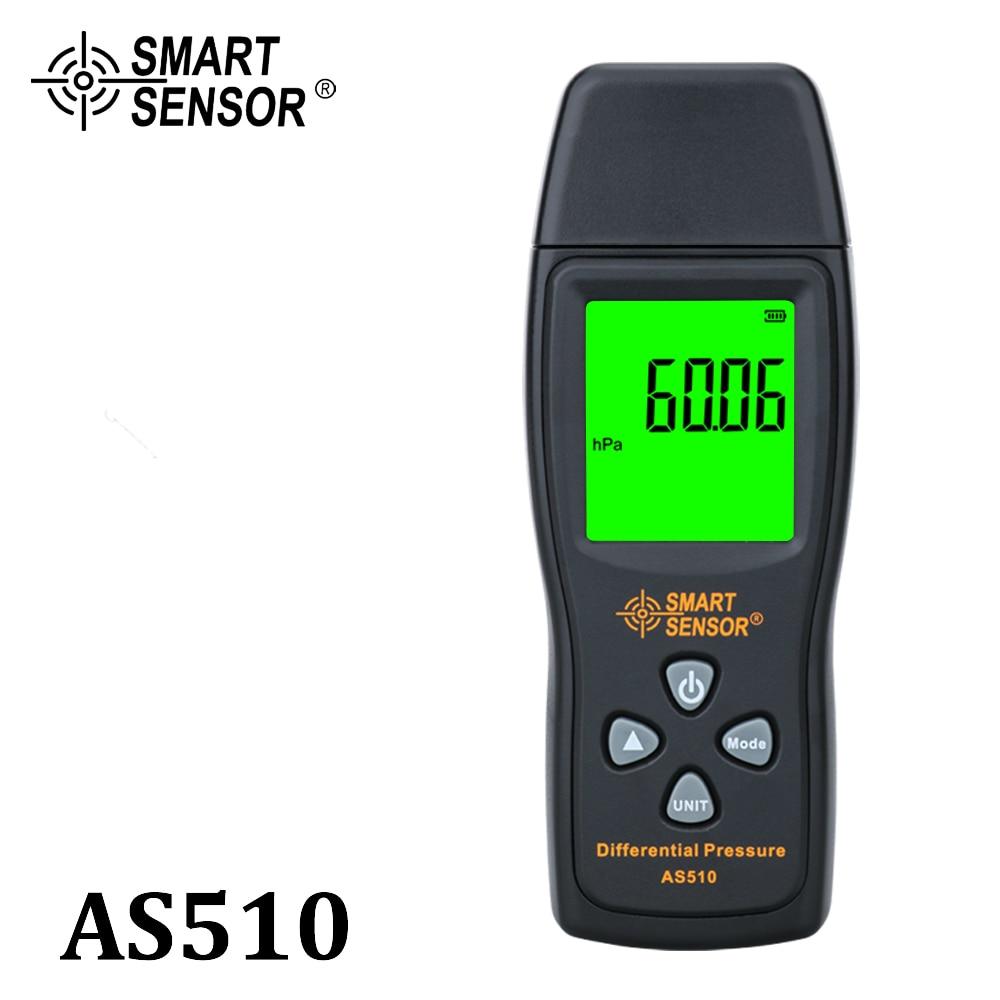 المانومتر الرقمية الهواء ضغط التفاضلية ضغط متر 0-100 hPa/0-45.15 في H2O الرقمي سلبي مقياس ضغط تفريغ الهواء متر