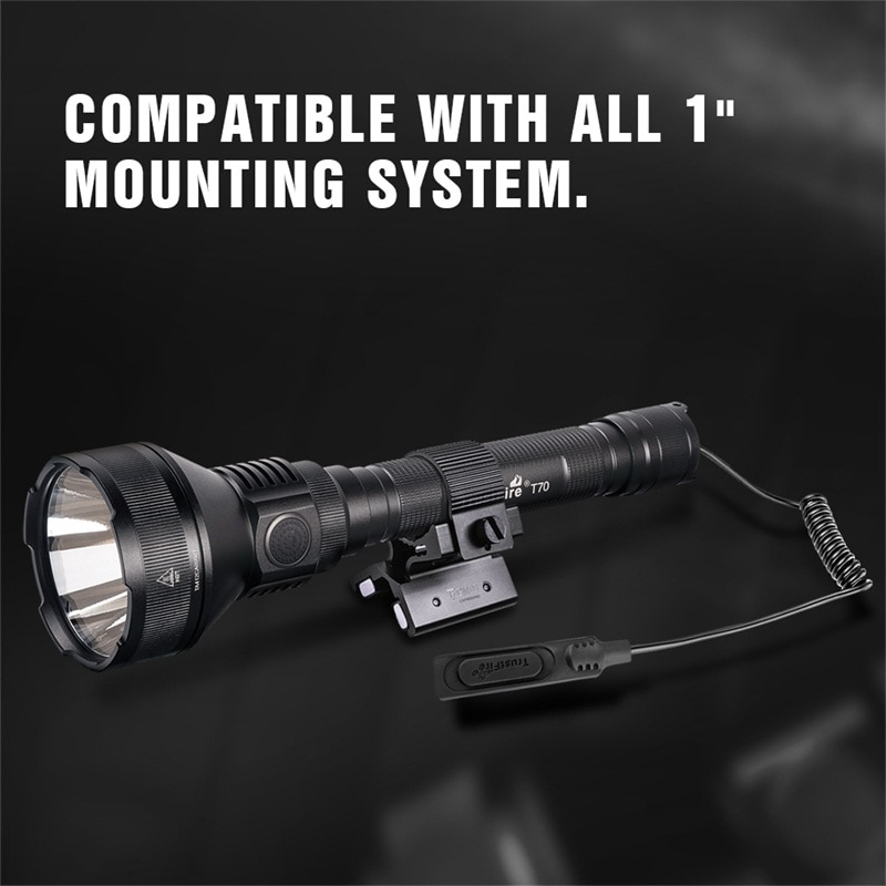 Trustfire T70 Hunting Flashlight 18650 Cree 2300lm LED Torch Ultra Powerful Rechargeable Light Tactical Camping Lamp enlarge