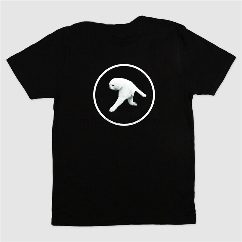 Aphex черная футболка с двумя ногами и котом Размер S до 3Xl Harajuku забавная футболка