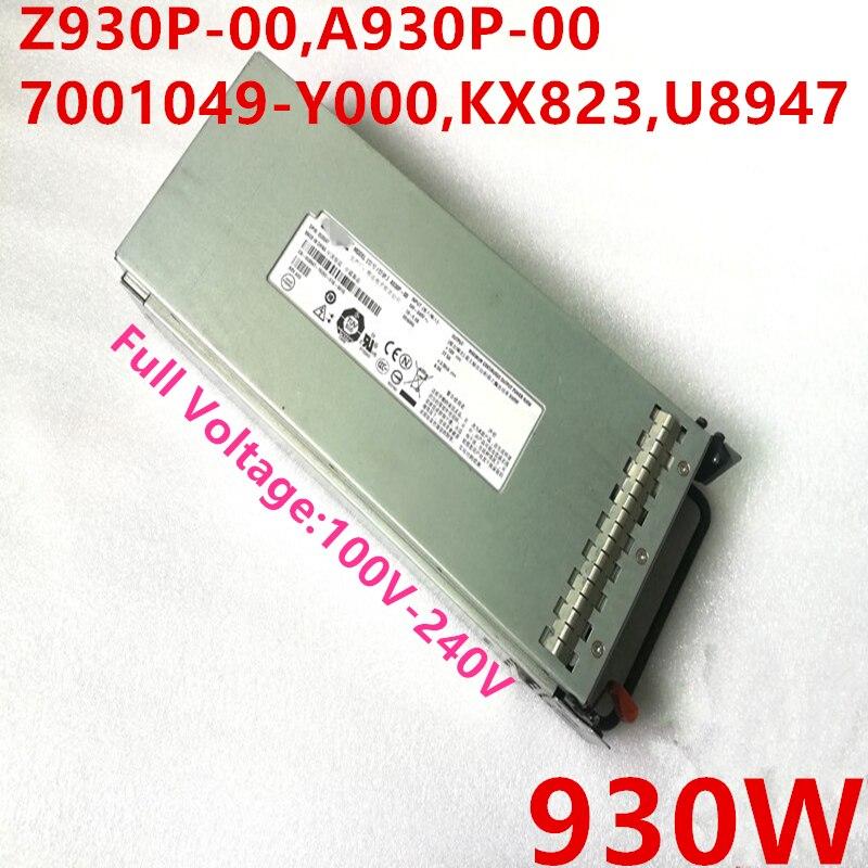Nueva fuente de alimentación para Dell PowerEdge 2900 930W Z930P-00 A930P-00 7001049-Y000 KX823 U8947