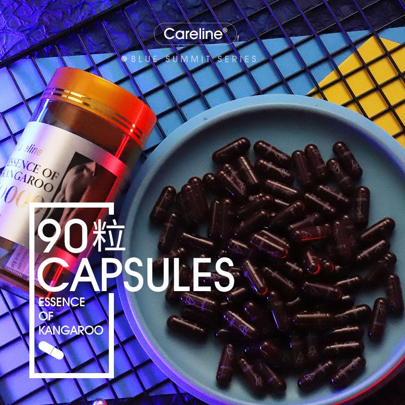 50000mg Kangaroo Essence Capsules Male Tonic Australia Men Vitality Pills Reproductive Health Wellness Supplements