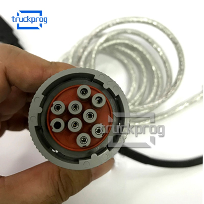 9 Pin Diagnostic Cable Insite inpower ATS Service Tool Diesel Truck Engine Diagnostic Tool Adapter Cable