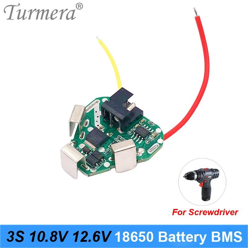 3S 12,6 V 10,8 V 18650 Lithium-Batterie BMS Schutz Bord Schaltung Modul für Schraubendreher Batterie 12V 3s Packs BMS Verwenden Turmera DE