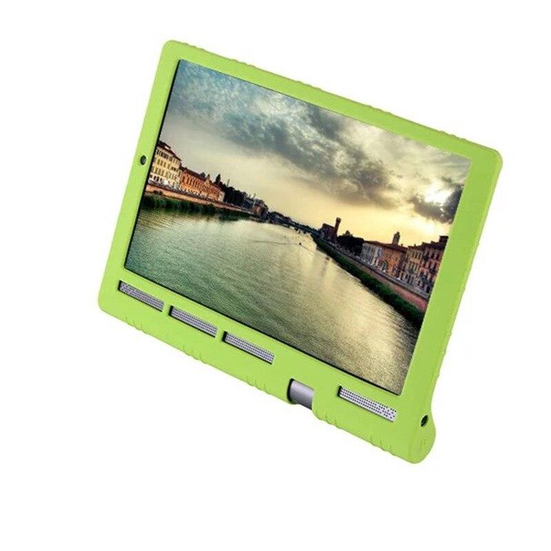 Yoga Tab funda de silicona blanda 3 PLUS para Lenovo Yoga Tab 3 Plus, funda para tablet para Yoga 10 Pro X90/X90F/X90M/X90L