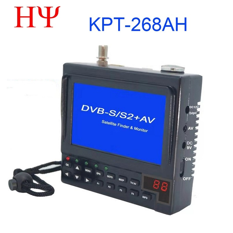 KPT-268AH DVB-S2 Satfinder Full HD Digitale Satelliet TV Ontvanger Finder Meter MPEG-4 DVB-S Sat Finder KPT 356H SATLINK WS-6933