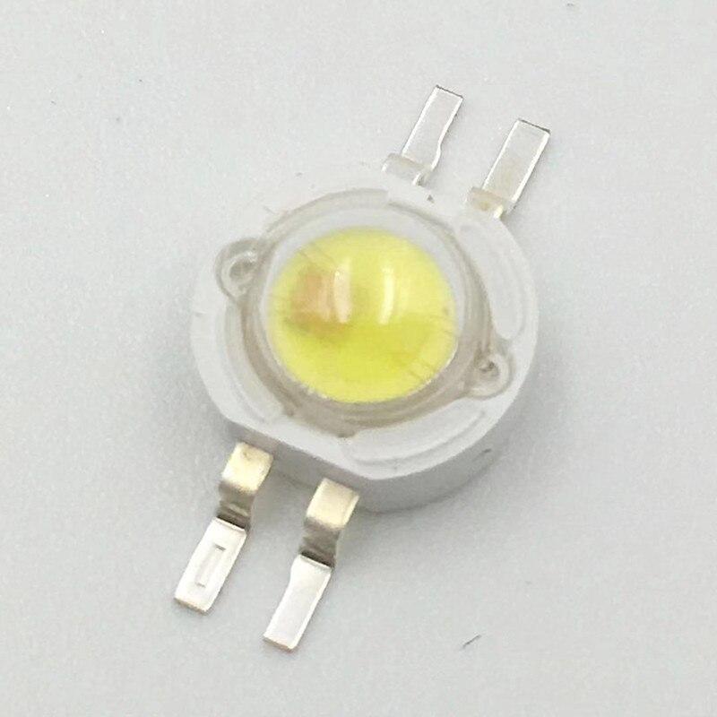 100 قطعة 2 واط 3 واط 6 واط LED رقاقة عالية الطاقة أحمر أصفر أبيض دافئ 620nm 590nm 30mil 45mil رقاقة لونين 4 دبابيس شحن مجاني