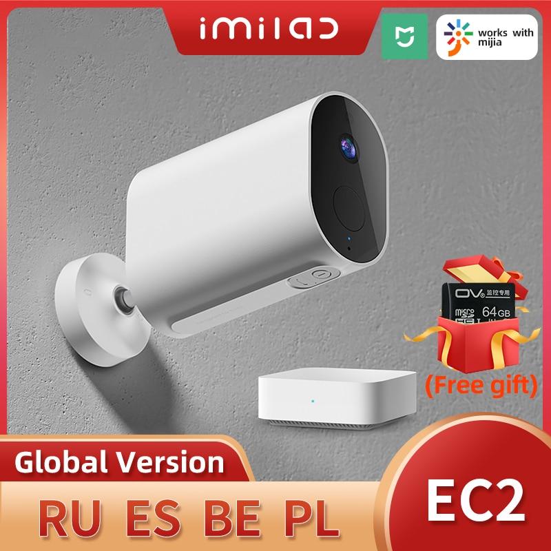 IMILAB EC2 كاميرا المنزل كاميرا تلفزيونات الدوائر المغلقة 1080P HD كاميرات واي فاي في الهواء الطلق اللاسلكية المنزل الذكي كاميرا Ip كاميرا مراقبة بال...