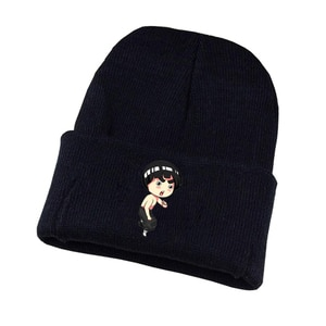 Anime Chinese Gongfu Knitted Hat Cosplay Hat Unisex Print Adult Casual Cotton Hat Teenagers Winter Knitted Cap