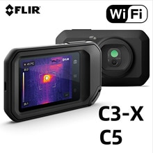 FLIR C5 C3-X Compact Thermal Camera Inspection Tool Heater Water Pipe Temperature Detector WiFi Pock