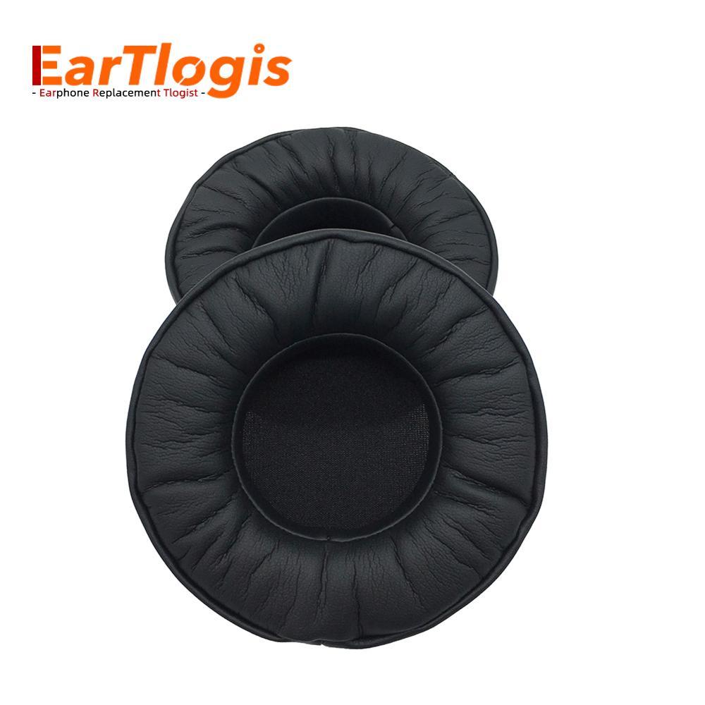 Almohadillas de repuesto EarTlogis para ASUS Orion Rog Spitfire, piezas de auriculares USB 7,1, funda de orejera, cojín de tazas
