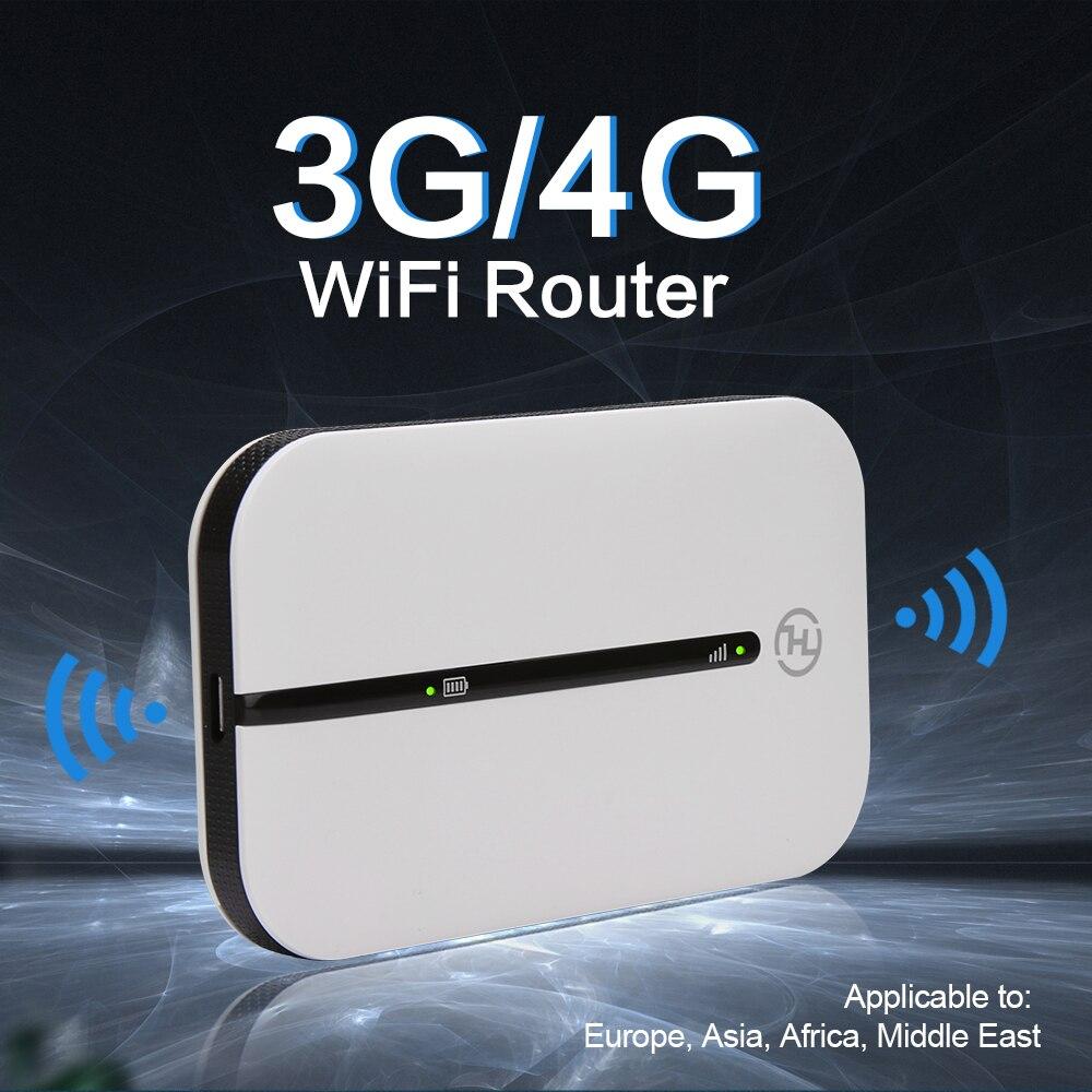 3G 4G LTE Wifi Modem Router 4G Sim Card Slot Protalbe Wi Fi Hotspot Wi-fi 4g Router With Lithium Battery 150Mbps Unlocked rogbid brave 4g 5atm diving smart watch phone ceramic bezel 8mp dual camera wi fi hotspot 3g 32g gps glonass 3560mah battery