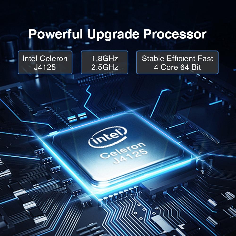 CHUWI Top Selling LarkBox Pro 4K Mini PC Quad Core Intel Celeron J4125 6GB RAM 128GB ROM Win10 Pocket PC For home and student