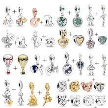 Бусины динозавра Симбы, вращающиеся на земле, подходят для Пандоры, подвески, браслет, ожерелье для женщин, ювелирные изделия для женщин, ювелирные изделия, аксессуары