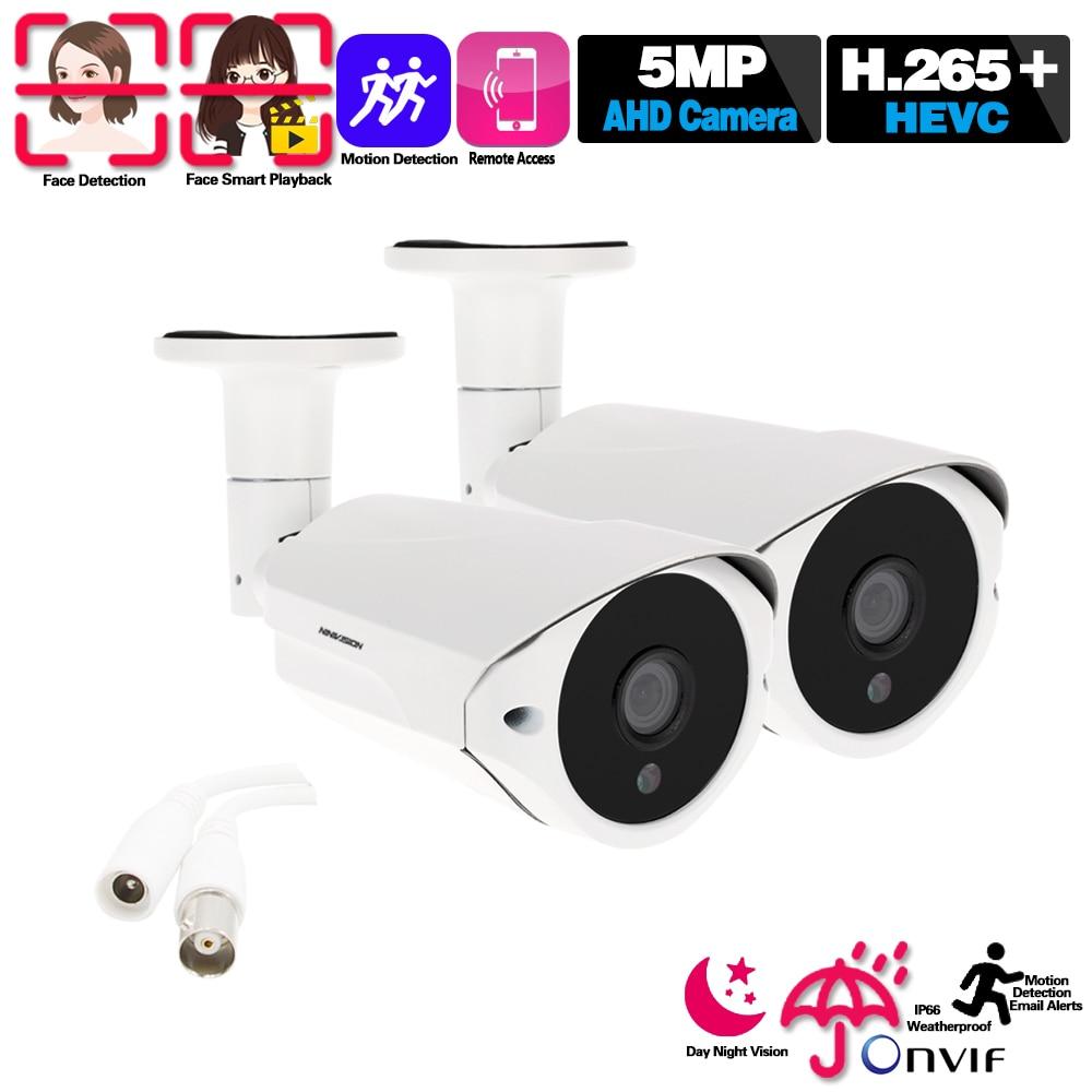Cámara CCTV 5MP AHD CCTV para interiores y exteriores, cámara de seguridad Sony con infrarrojos, cámara de videovigilancia