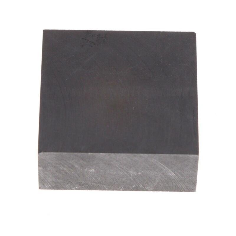 Placa de Folha de Grafite de Alta Pura de Carbono Placa de Eletrodo de Grafite Molde de Grafite de Carbono Painel Pirolítico Folha 2pcs 50x50x20mm