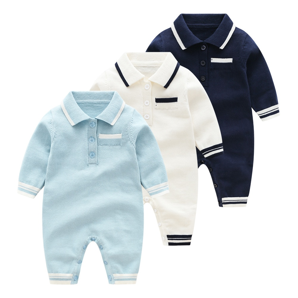baby girl clothes autumn lattice knitted baby clothes newborn baby girl romper cotton baby cardigan sweater romper jumpsuit Spring Knitted Baby Romper Newborn Baby Knitting Clothes Long-sleeve Infant Baby Girl Jumpsuit Overalls Sweet Baby Boys Romper