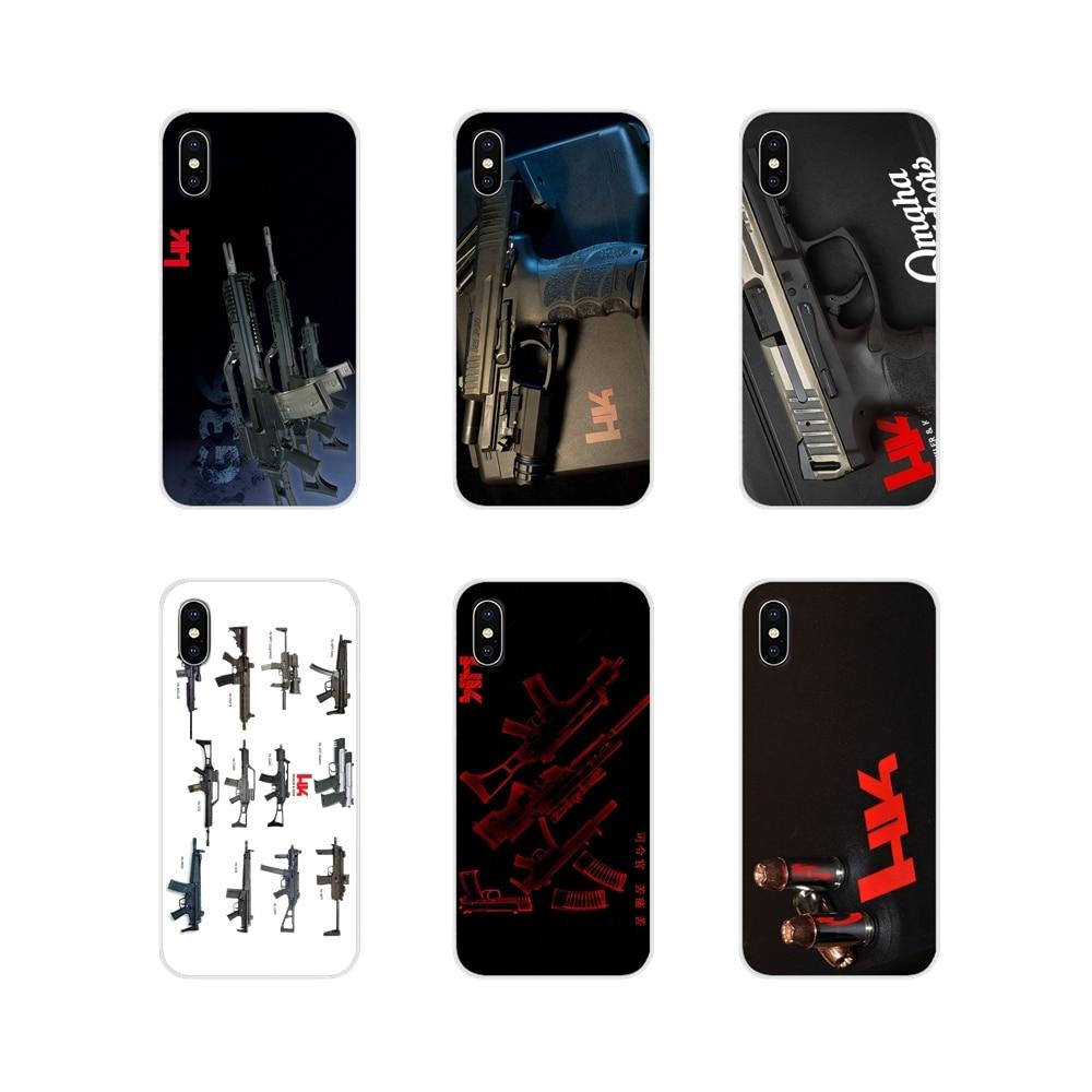Heckler y Koch HK logotipo Cartel de la cubierta de las cajas del teléfono celular para Apple iPhone X XR XS 11Pro MAX 4S 5S 5C SE 6 6S 7 7 Plus ipod touch 5 6