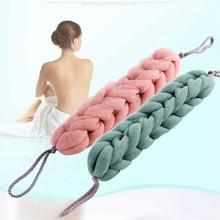 Bath back sponge, bath body scrub belt, flower net, shampoo, long sponge, bath body brush
