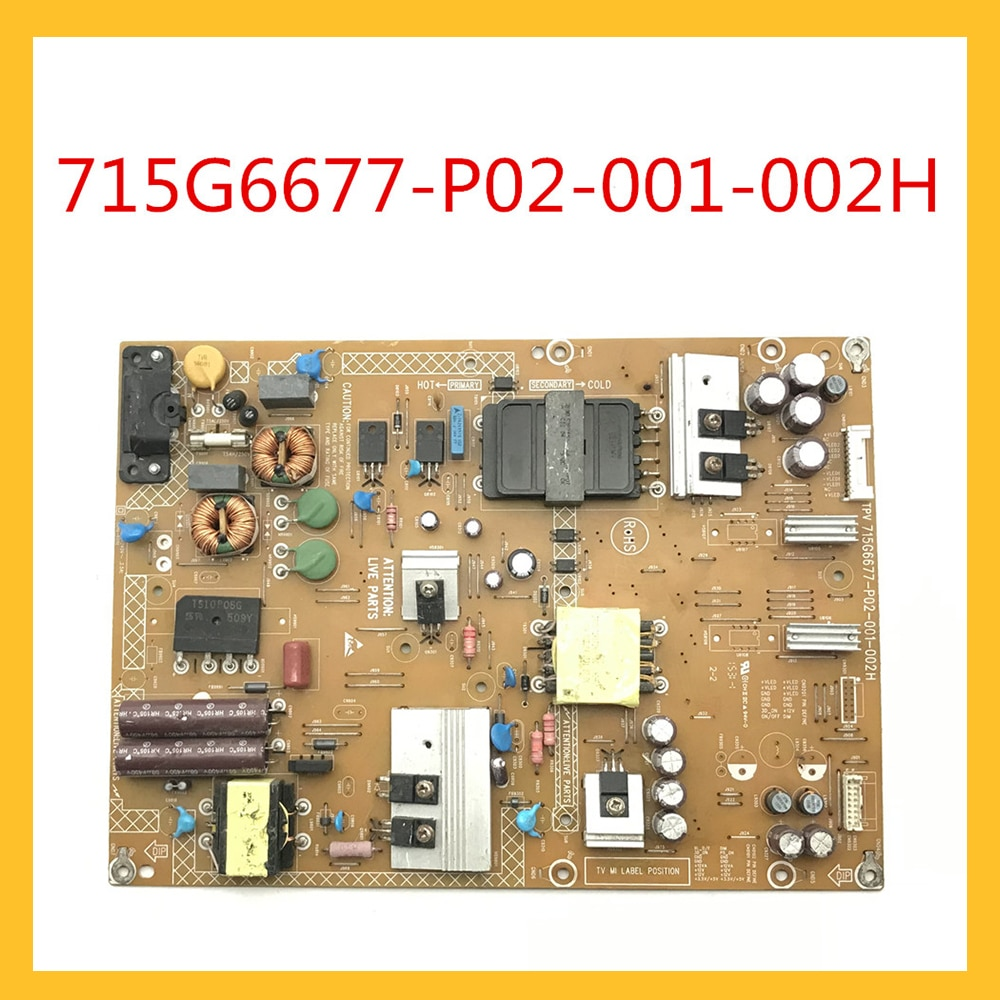 715G6677-P02-001-002H Power Supply Card For TV Original Power Supply Board Accessories Power Support