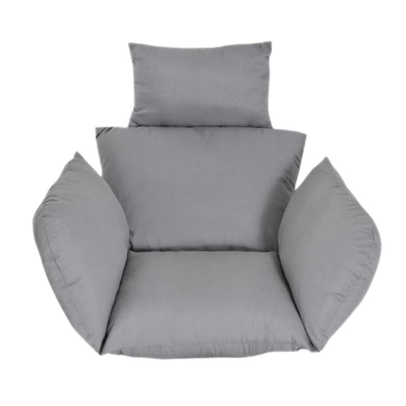 معلقة كرسي هزاز وسادة منصات الظهر شرفة سوينغ سلة وسادة مقعد انفصال الباحة حديقة صالة كرسي الحصير (لا أرجوحة)