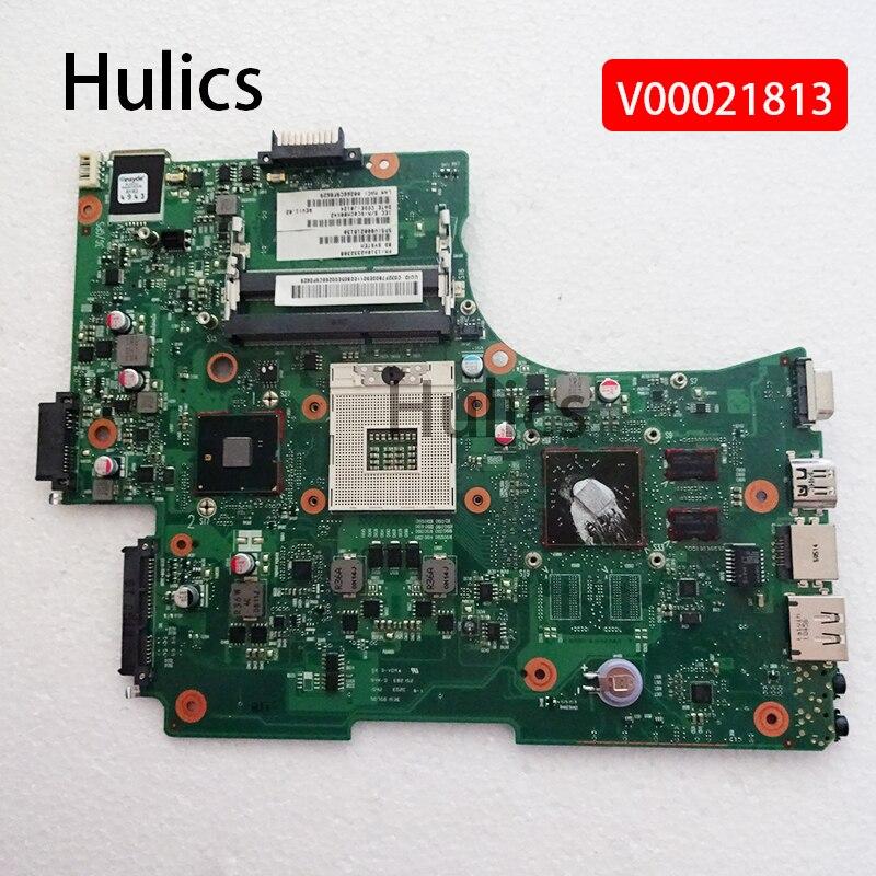 Hulics الأصلي لتوشيبا L650 L655 اللوحة المحمول DDR3 HD4500 V000218130 1310A2332304 HM55 100% اختبار موافق