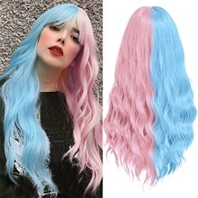 Women's Fashion Wig Brown Synthetic Hairshort Wigs hair Wave Wig
