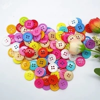 50pcs round resin mini tiny buttons sewing tools decorative button scrapbooking garment diy apparel accessories