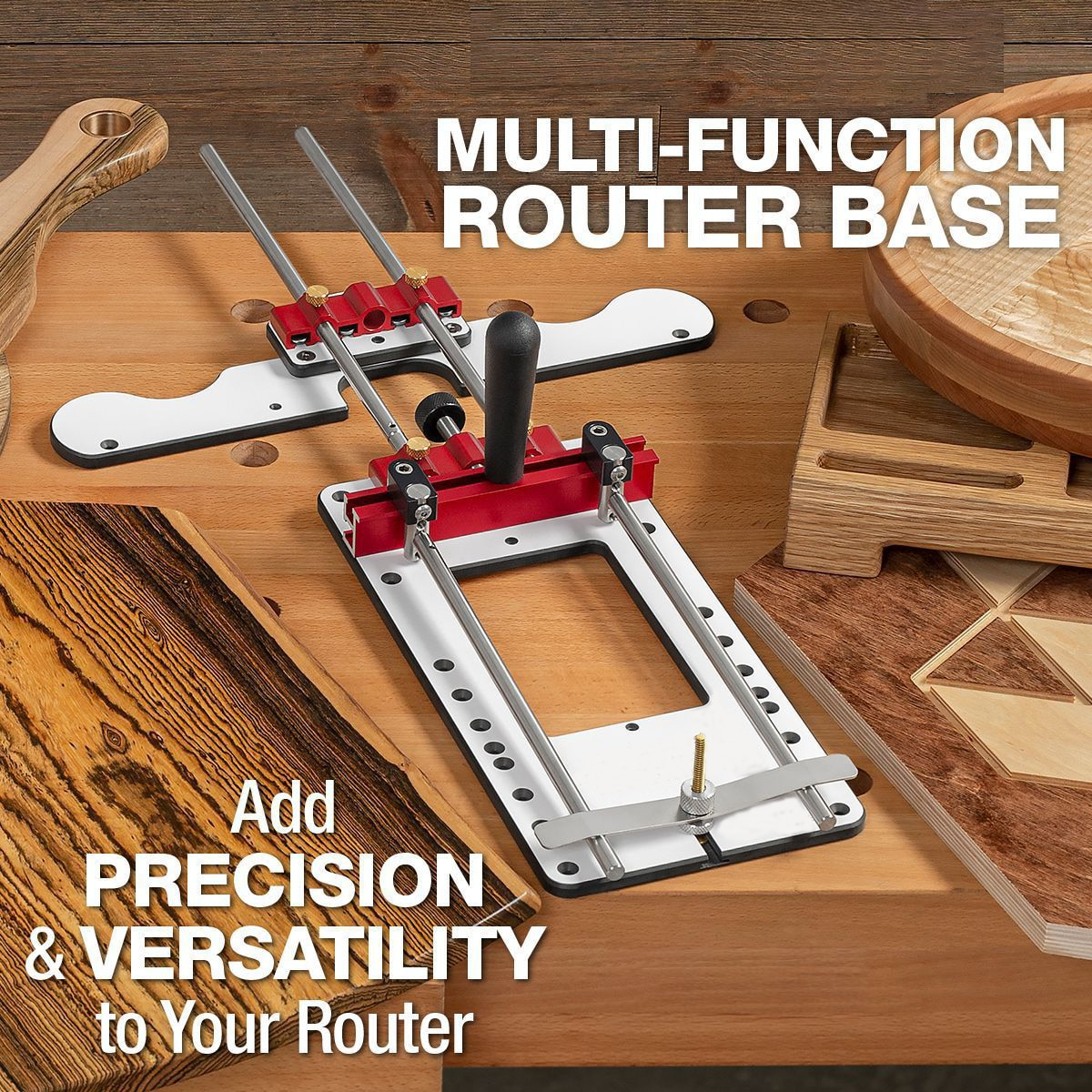 New Woodworking Locator Engraving Machine Locator Adjustable Punching Locator Drilling Template Mini Desktop Woodworking Tool