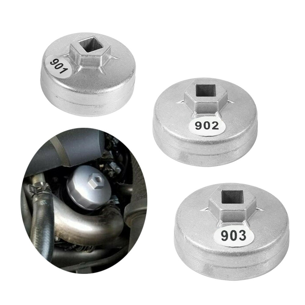 Alta qualidade 65mm/67mm/74mm/79mm carro 14/15 flauta de alumínio filtro óleo chave soquete removedor kit