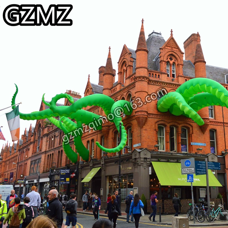 MZQM giant inflatable octopus tentacles inflatable octopus leg / Inflatable Octopus tentacles for party event decoration christms decoration inflatable clown