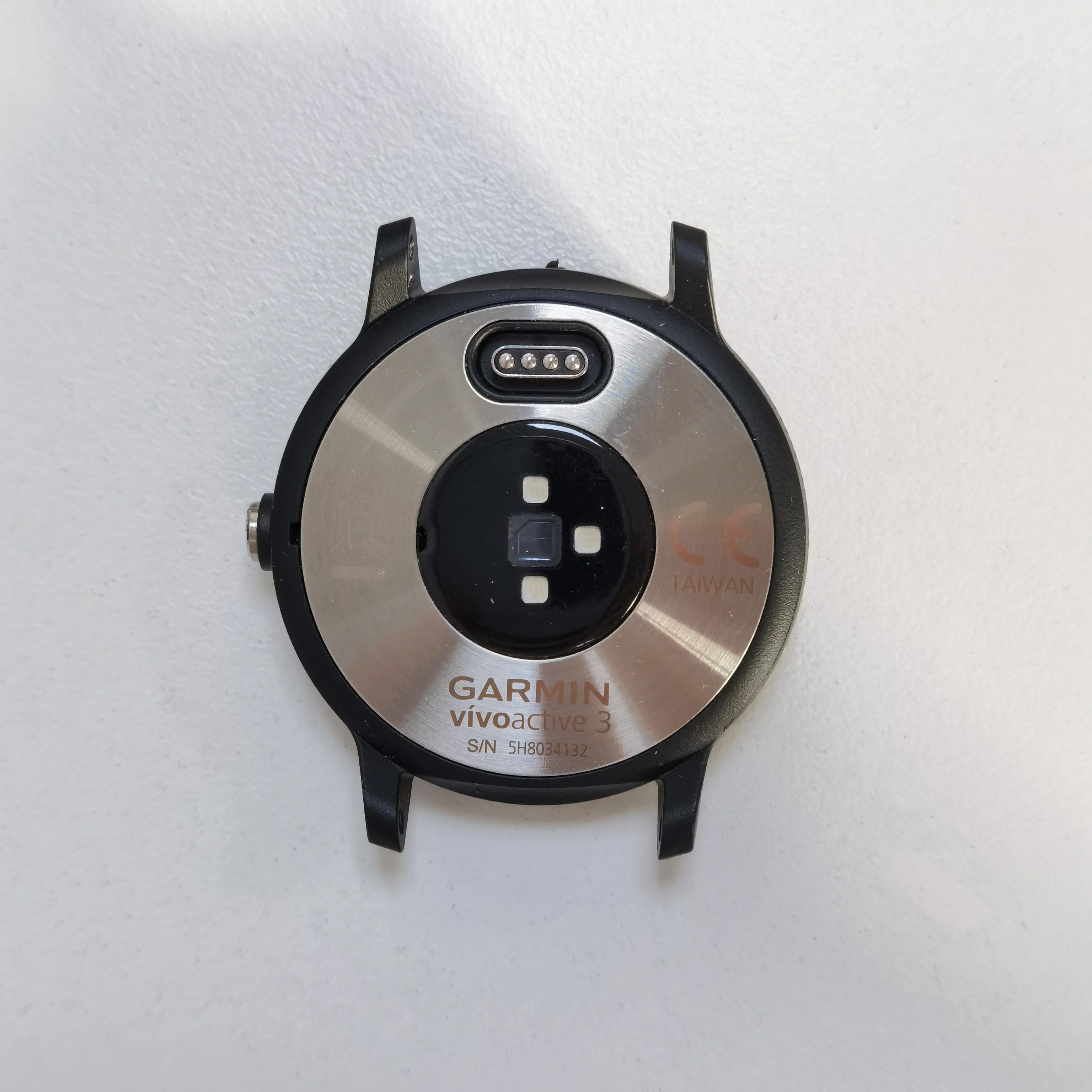 قطع غيار أصلية من Garmin Vivoactive 3 للغطاء الخلفي لإصلاح الغطاء الخلفي garmin Vivo 3