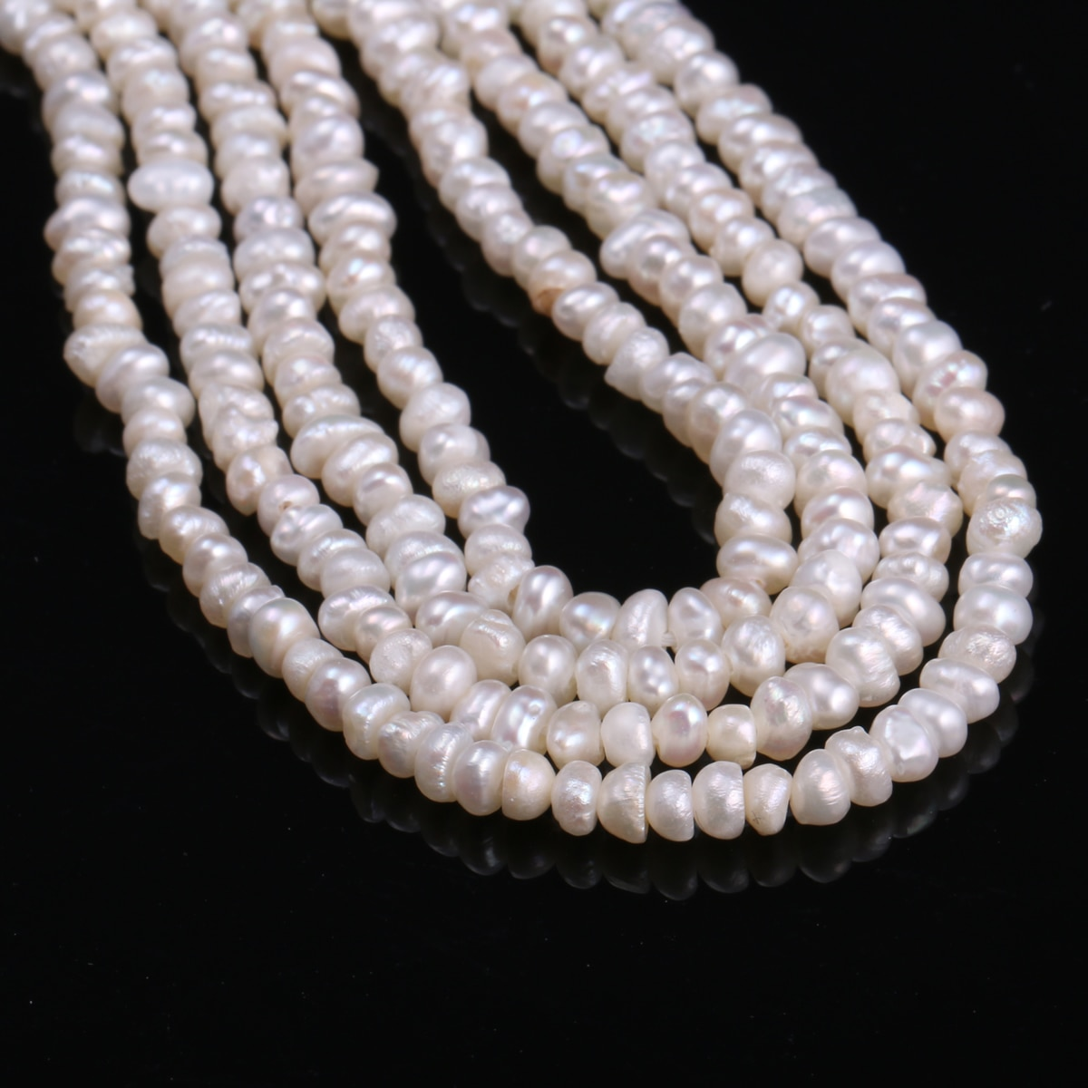 Cultured Pearl Beads Irregular Natural Freshwater Pearls for Women Jewelry Making DIY Charm Necklace Bracelet 13''  - buy with discount