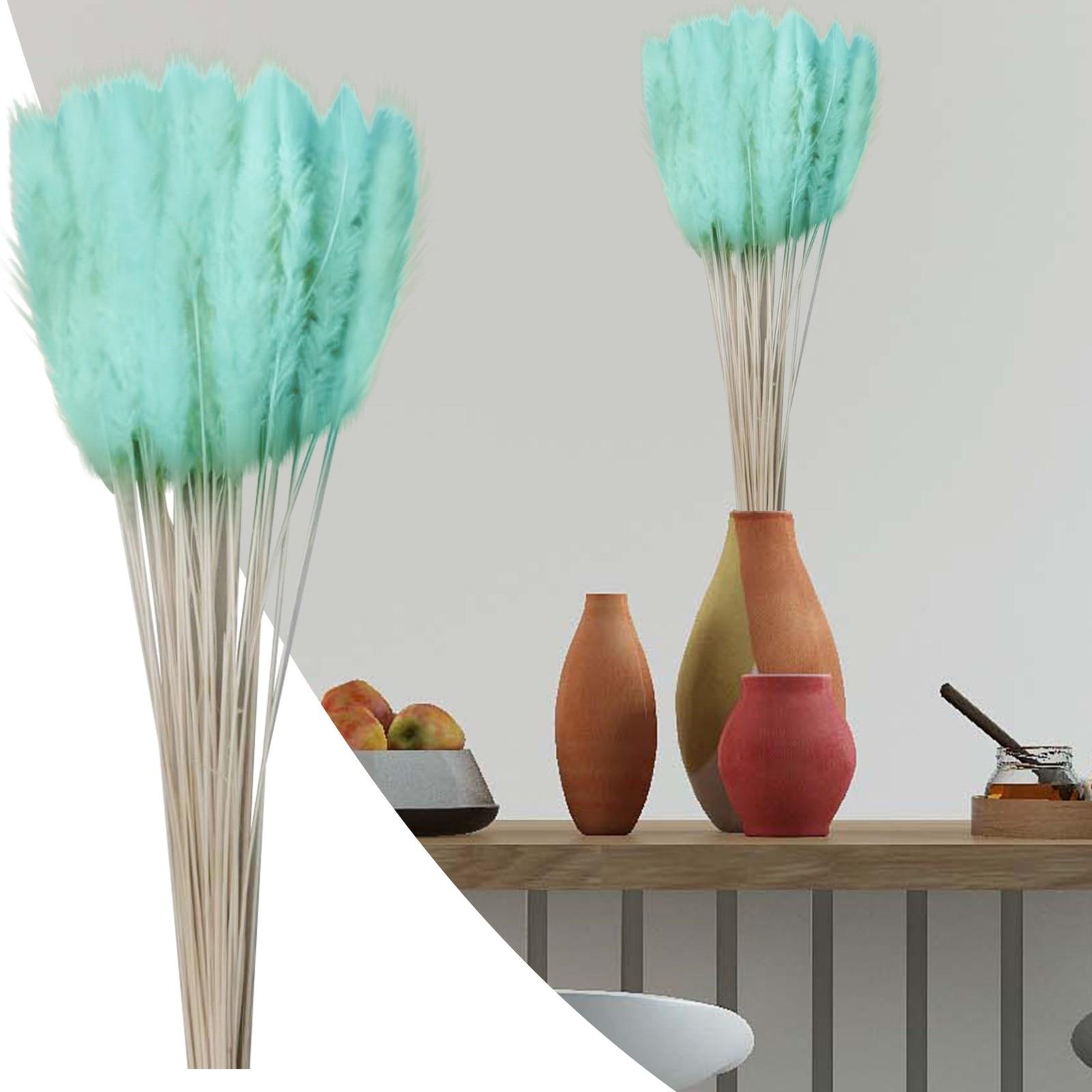 Natural seco pequeno pampas grama phragmites artificial flor de trigo real para festa de casamento diy artesanato scrapbook bouquet
