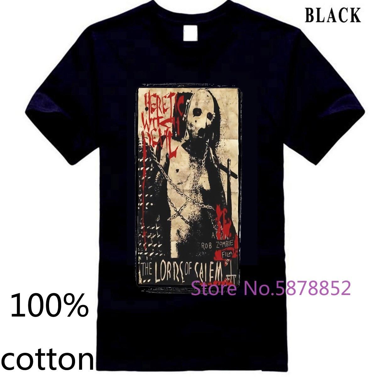 Horror, zombie, rob zombie, devils rejeitar, la, califórnia, dia das bruxas, ny marca magro ajuste impressão camiseta masculina