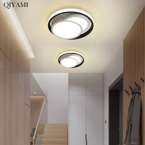 Modern Led Chandelier Lights For Living Room Bedroom Aisle Corridor Round Square Home Deco Lighting Lamps Luminaire Fixtures