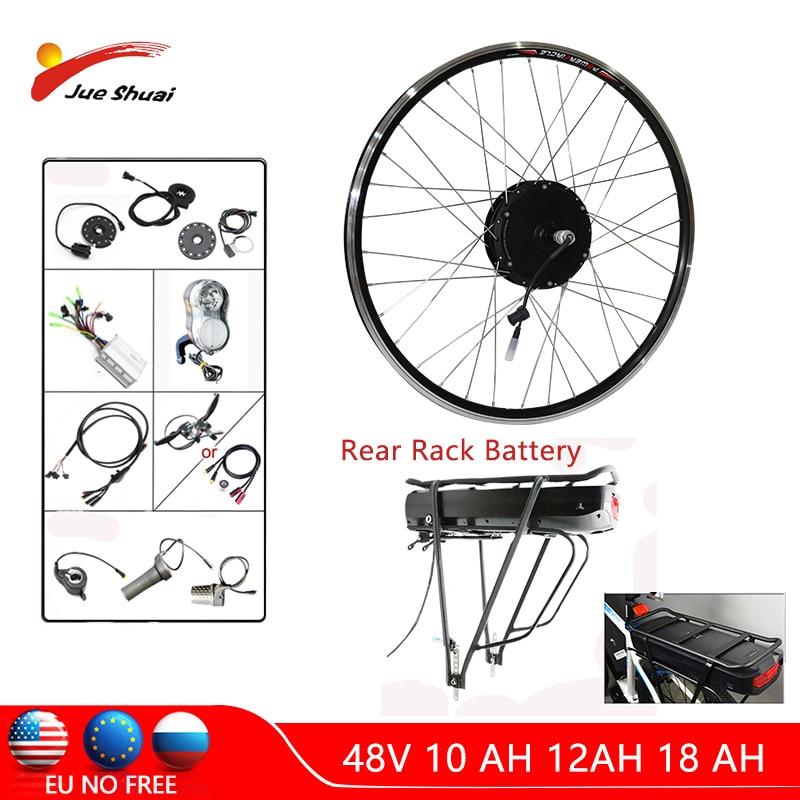 48 V 500 W kit de conversión de bicicleta eléctrica con batería...
