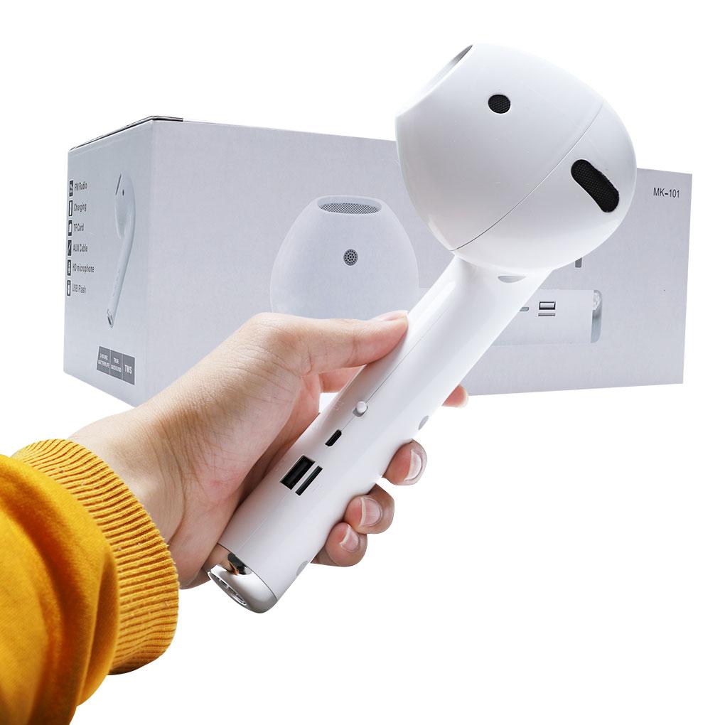 Altavoz gigante de gran tamaño con Bluetooth para AirPodss forma creativa Bluetooth Audio modelo altavoz inalámbrico regalo altavoz en forna de auriculat altavoz grande sofwofer inalámbrico