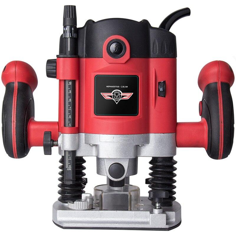 Máquina de corte de agujeros Para carpintería, herramientas de grabado eléctrico, renovación...