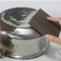 Sponge Carborundum Brush Kitchen Cleaning Brush Washing Cleaning Kitchen Cleaner Tool Kitchen Accessories drop shipping
