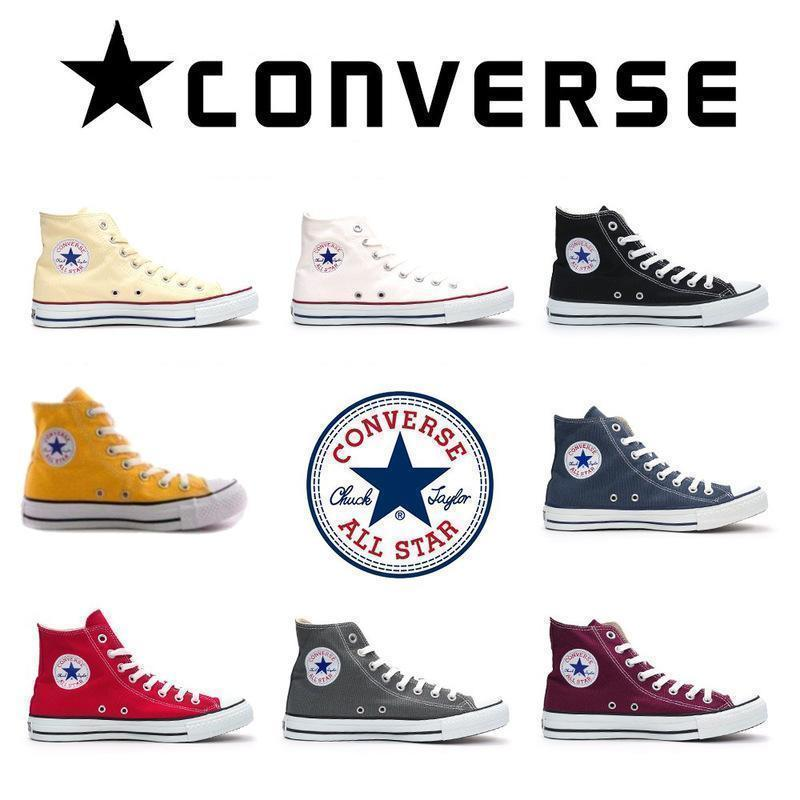 Converse Chuck Classic Taylor High-Top 10 Styles All Star Men'S  Women'S Skateboarding Shoe And Plat