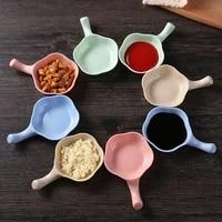 4pcs multi purpose seasoning dish gravy boats seasoning bowl small plates kitchen dishes for appetizers snack dish sauce tool