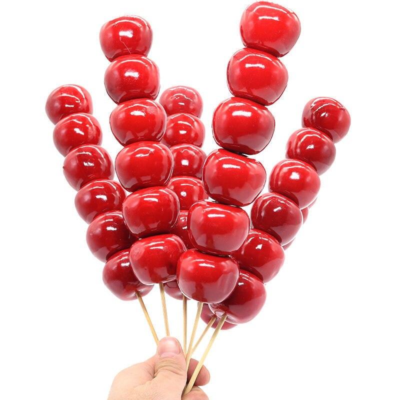 Xinhuaeasy وهمية الحلوى السكر القرع محاكاة نموذج الدعائم سلسلة الجليد مرحلة الزفاف التصوير الديكور لعبة الرغوة الكرز الفاكهة