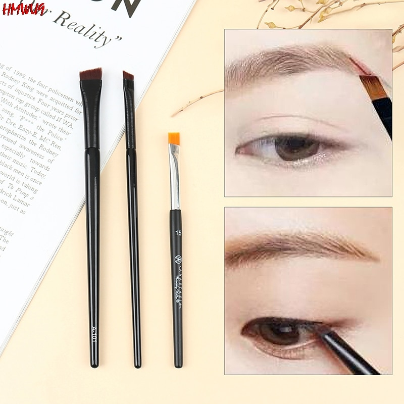 Hot Brow Contour Brush Eyebrow Eyeliner Brush Professional Small Angled Eyebrow Brush High Quality B