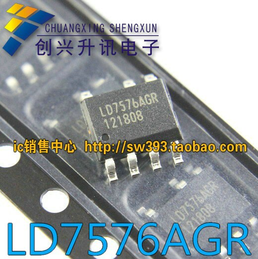 Entrega gratuita. Ld7576agr novo original lcd power management ic sop-7
