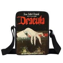 DRACULA VLAD TEPES Impaler กระเป๋า Messenger ขนาดเล็กแวมไพร์ผู้หญิงไหล่กระเป๋าสำหรับเดินทางผู้หญิงแบบพกพา Crossbody Bag