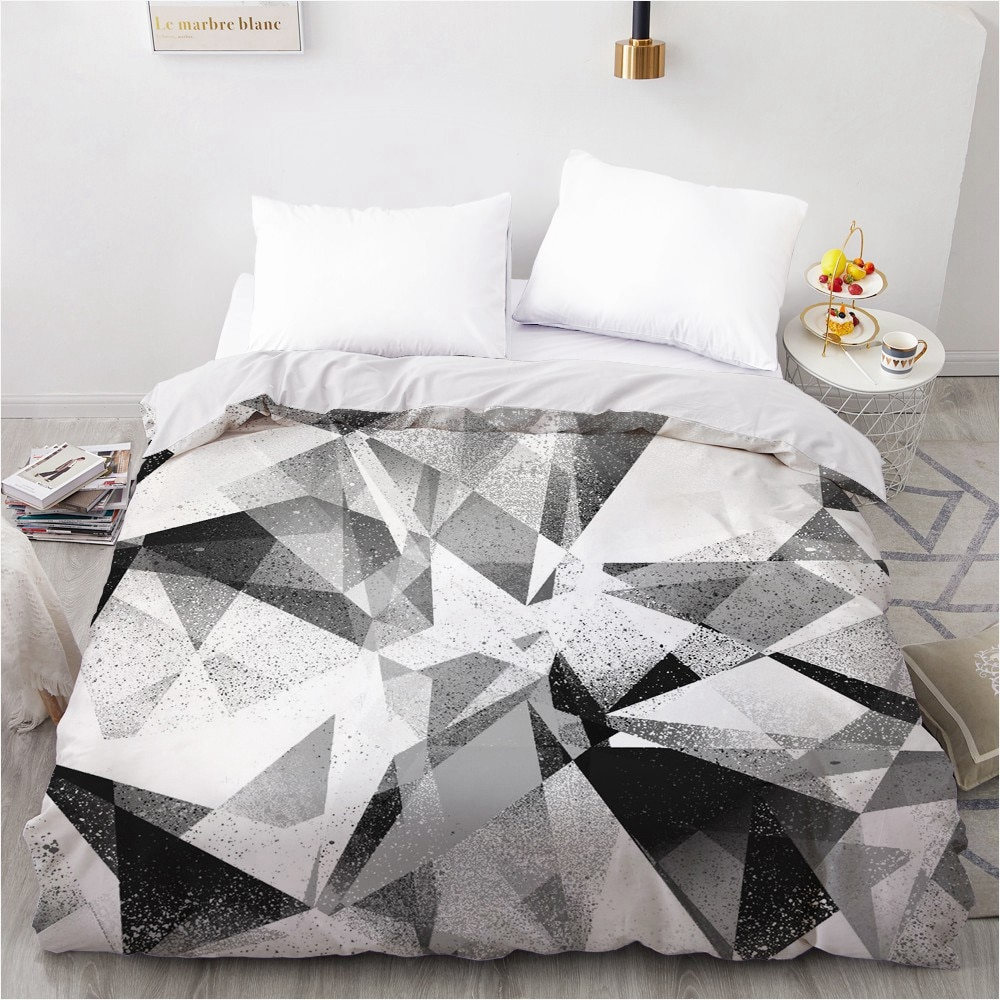 3D Printed Custom Design Duvet Cover Quilt Comforter Blanket Case Covers Bedding Set  Bed Linen Simple 260*220 Home Textile