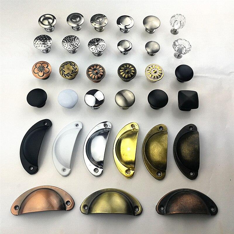 Разные стили, цветные ручки из нержавеющей стали для дверей, ящиков, шкафов, платяных шкафов, фурнитура, ручка для мебели, оптовая продажа
