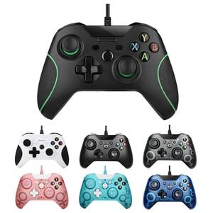 USB проводной контроллер для Xbox One, джойстик для видеоигр, мандо для Microsoft Xbox One, тонкий геймпад, джойстик для Windows PC