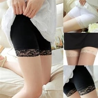 women safety underwear high quality safety short pants mid waist lace hot shorts elastic pants trousers